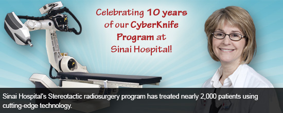 Sinai Hospital Announces Decade of Cancer Care Advancements as Baltimore's First CyberKnife Program